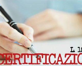 DECERTIFICAZIONE E DICHIARAZIONI SOSTITUTIVE DI CERTIFICAZIONI